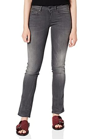 G-Star Dames Jeans Attacc Mid Straight Wmn
