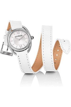 Saint Honore Dames analoog kwarts horloge met lederen armband 7215261AIN-W