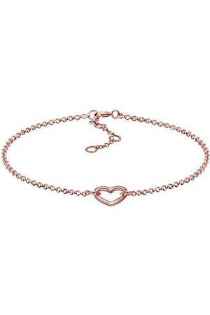 Elli Armbanden Dames Hart Hanger in 925 Sterling Zilver