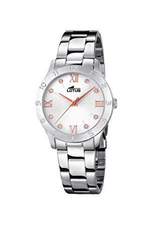 Lotus Womens analoge klassieke quartz horloge met roestvrij stalen band 18138/3