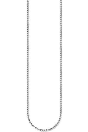 Thomas Sabo Uniseks ketting Glam & Soul 925 sterling zwart lengte 90 cm KE1106-637-12-L90