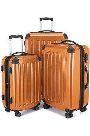 Hauptstadtkoffer Alex 3-delige kofferset 4 dubbele wielen, trolley-set, uitbreidbare reiskoffer, TSA, (S, M & L)