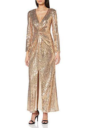 Amelia Rose Dames Wrap Maxi bruidsmeisje jurk