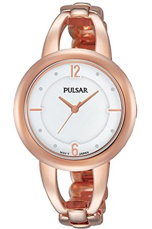 Pulsar PH8208X1 Analoog dameshorloge met roestvrij stalen gecoate armband