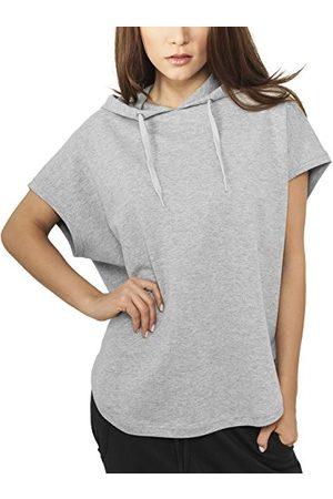 Urban classics Dames Sweatshirt Dames Mouwloos Terry Hoody, , M