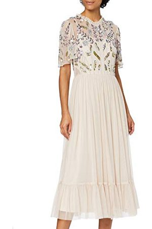 Frock and Frill Vrouwen verfraaid Midi Skater jurk Cocktail