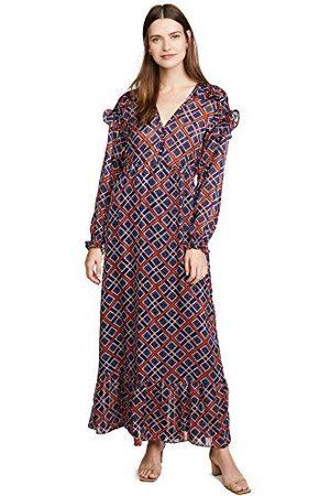 Scotch&Soda Dames Geprinte jurken - Maxi-jurk met print.