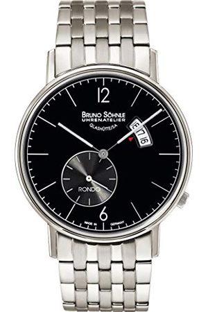 Soehnle Bruno Söhnle Rondo Big, kwartsuurwerk, metalen armband, 17-13053-762
