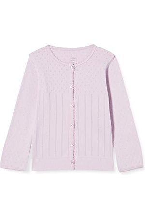 Noa Noa Babymeisje Basic Doria, lange mouwen cardigan sweater