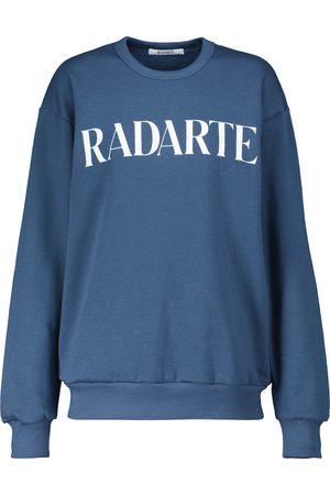 RODARTE Logo cotton sweatshirt