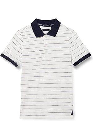 IKKS Poloshirt voor jongens, gestreept, blauw