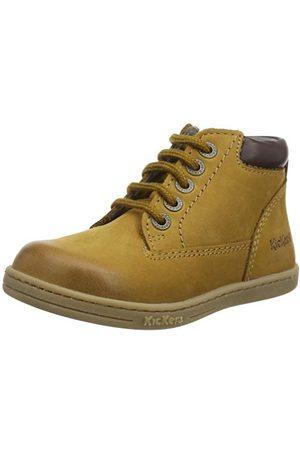 Kickers Jongens 694550-30-10 Open teen sandalen, roos antieke Perm 132, 7 UK