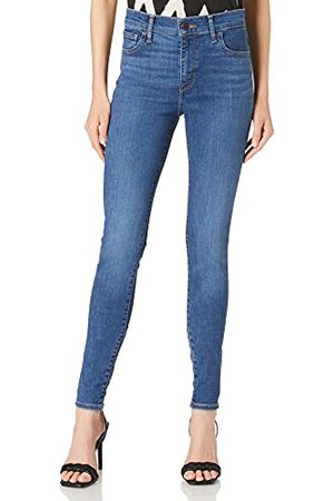Levi's Womens 720 Hirise Super Skinny Jeans, Echo Cloud, 3030