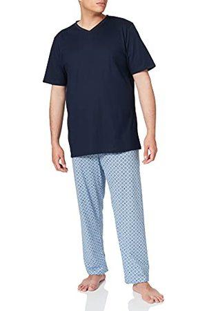 Seidensticker Zijdesticker heren tweedelige pyjama lang