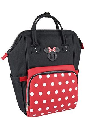CERDÁ LIFE'S LITTLE MOMENTS Cerdá rugzak Casual Travel Minnie Mouse rood - rugzak 44 cm | officieel gelicentieerd product Disney Studios