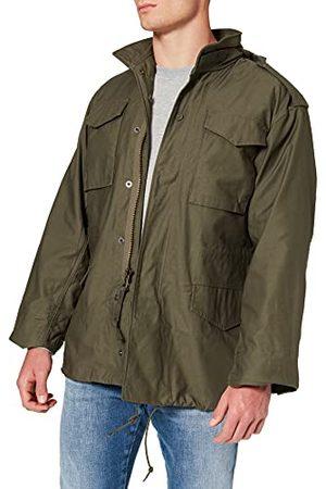 Alpha Industries Korte katoenen herenparka in camouflage-look