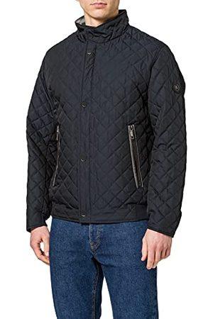 Bugatti Heren 670900-69024-380-58 gewatteerde jas, marine, 58