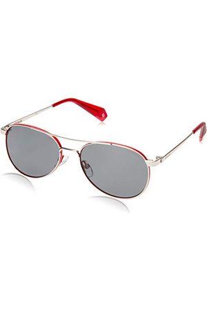 Polaroid Dames Pld 6070/S/X zonnebril, meerkleurig (zilverrood), 56