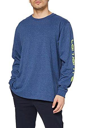 Carhartt Heren Signature Logo Long-Sleeve T-shirt