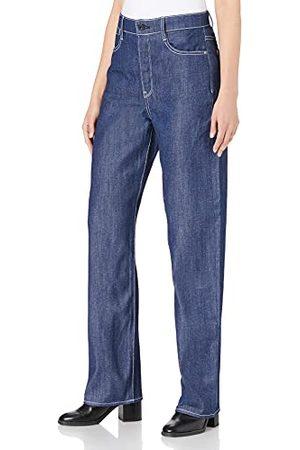 G-Star Dames Tedie Ultra High Waist Long Straight C Jeans