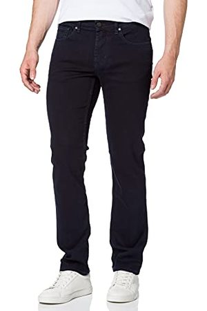 7 for all Mankind Heren Slim Luxe Performance Eco Blue Black Jeans
