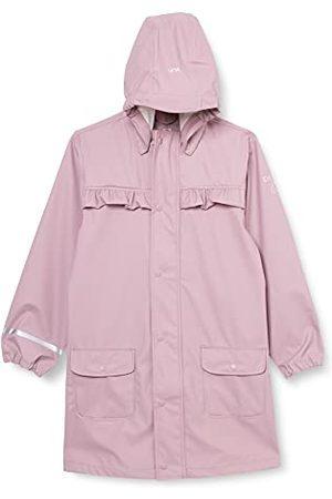Minymo Raincoat Solid regenjas voor meisjes.