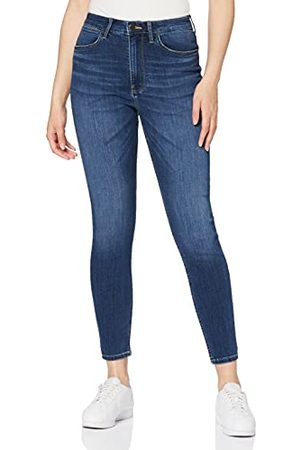 Wrangler Womens HIGH Rise Skinny Jeans, Cloud, 32/32