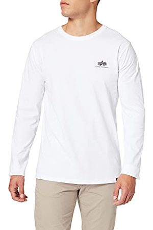 Alpha Industries Heren Back Print Heavy Ls T-shirt