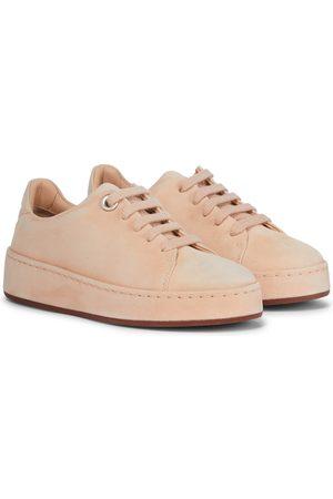 Loro Piana Meisjes Sneakers - Suede sneakers
