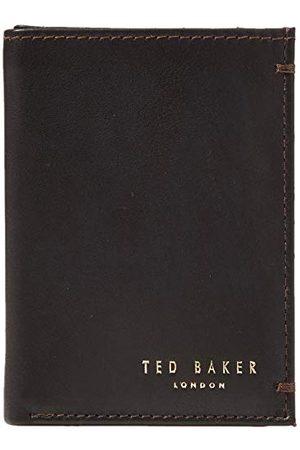 Ted Baker Heren Core sml Bifold Lederen Reisaccessoire-Bi-Fold Wallet, DK-Brown, One Size
