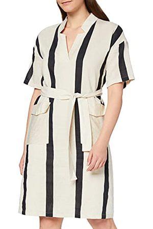 Yargıcı Yargir dames jurk Collar Detailed Midi Dress