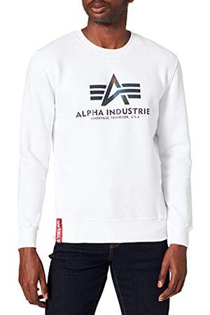 Alpha Industries Heren Basic Sweater Rainbow Ref. Print Sweatshirt