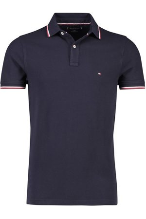 Tommy Hilfiger Heren Poloshirts - Polo Slim Fit donkerblauw