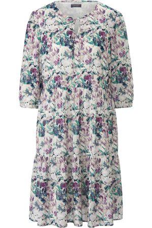 Mybc Dames Geprinte jurken - Jurk bloemenprint Van