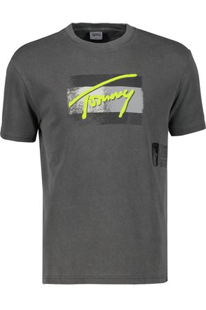 Tommy Hilfiger T-shirt - Slim Fit - Antraciet