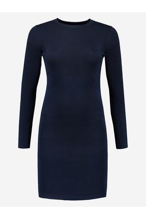 NIKKIE by Nikkie Plessen Donkerblauwe aangesloten jurk 32 / Navy