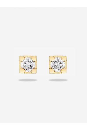 Diamonds DIAMANTEN OORBELLEN one size / 750 - Yellow Gold 18K