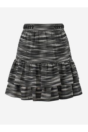 NIKKIE by Nikkie Plessen Rok met geometrische print 32 / Black