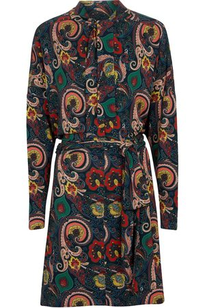 Etro Paisley shirt midi dress