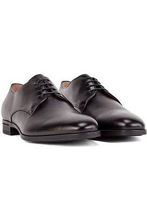 BOSS Heren Veterschoenen - Derbyschoenen van gepolijst leer