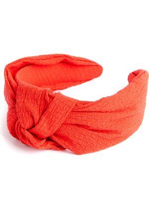 Primark Dames Haaraccessoires - Rode haarband van crãªpe met knoop