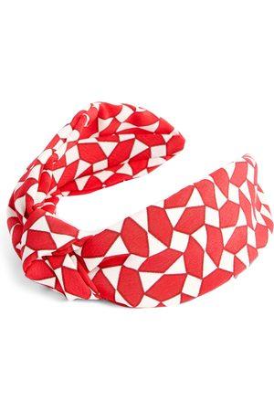 Primark Rode geometrische haarband met knoop