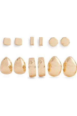 Primark Goudkleurige grove oorsieraden en knopjes, 6 paar