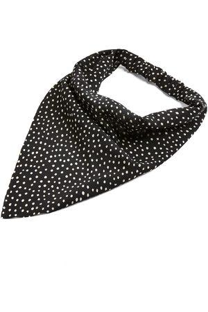 Primark Zwarte sjaal-haarband met stippen