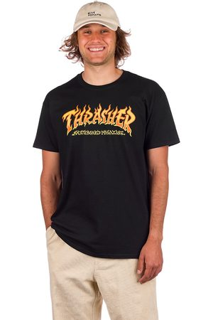 Thrasher Heren Shirts - Fire Logo T-Shirt