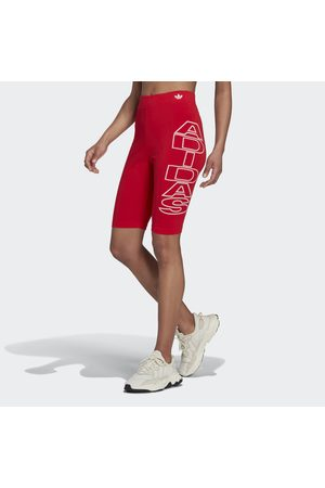 adidas Mid-Waist Letter Korte Legging