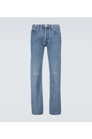 Balenciaga Recycled slip patch jeans