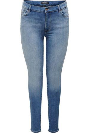 Carmakoma Dames Skinny - Jeans Blauw 15197467