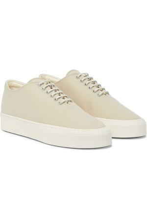 The Row Marie H canvas sneakers