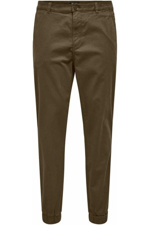 Only & Sons Heren Chino's - Chino 'ONSCAM AGED CUFF CHINO PG 9626